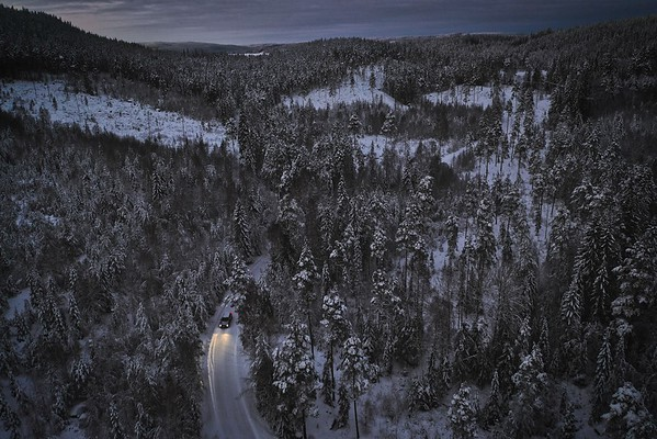 Christmas travel in Sweden