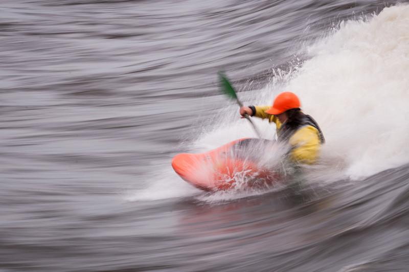 Kayaking at Bate Island
