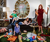 'Modern Family'  <br /> A photoshoot for the father's birthday including his favorite<br /> items sprinkled into the photo.<br /> Photo © Daniel Driensky 2013