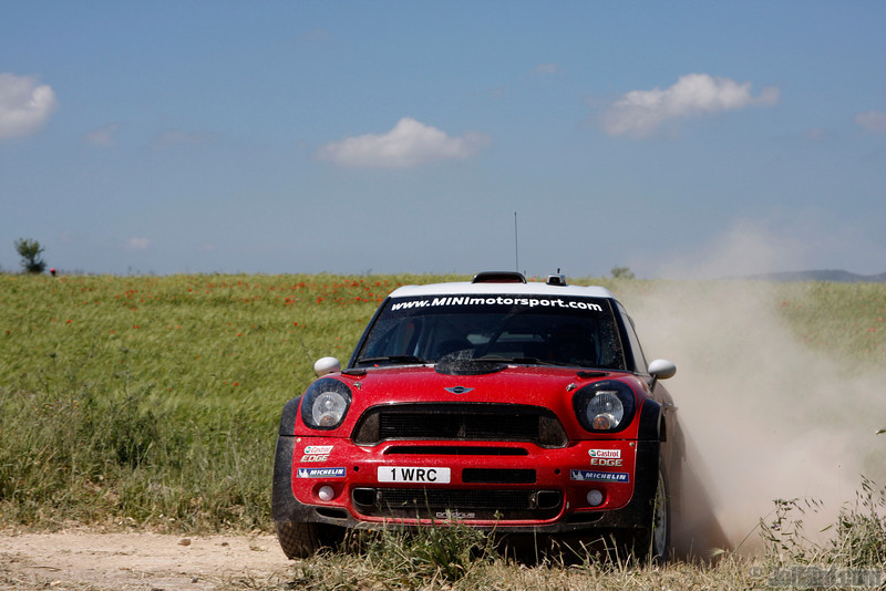 sordo d d del barrio c (esp) mini j cooper works WRC sardaigne (jl)-22