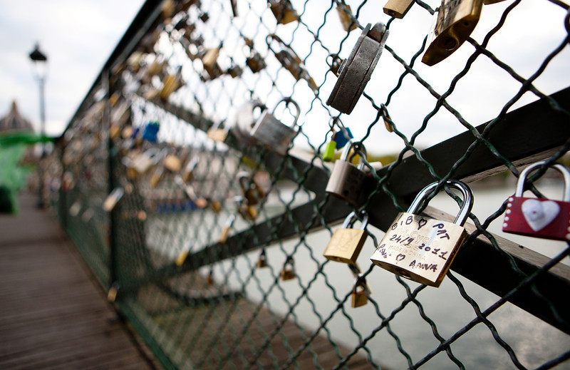 Love Locks Bridge - Paris
