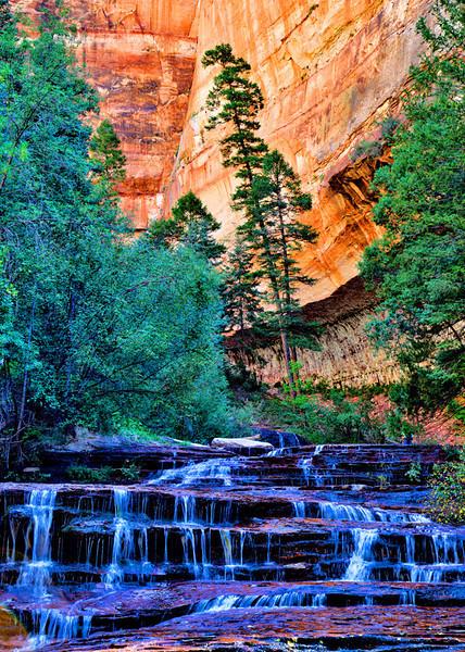 """Archangel Falls"" - Zion National Park - Utah"