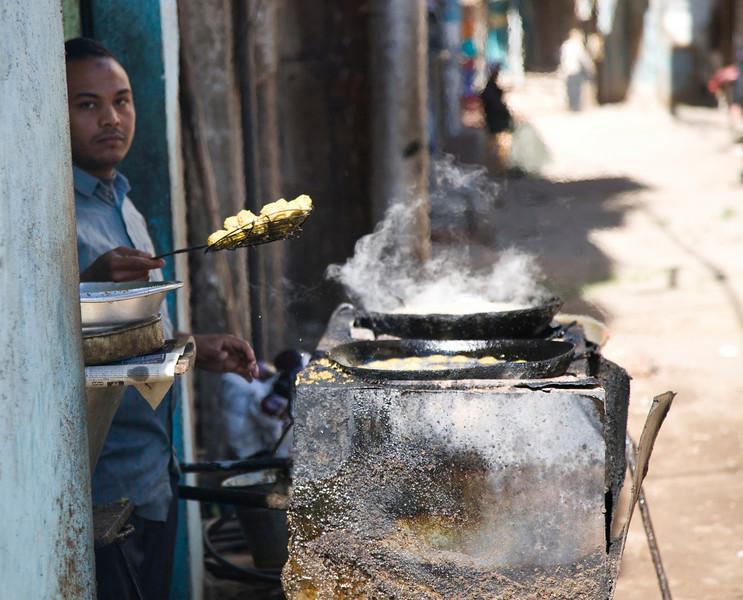 Street vendor in Luxor Egypt