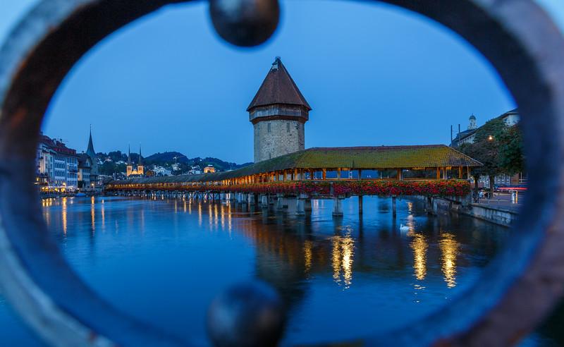 Luzern - Chapel bridge