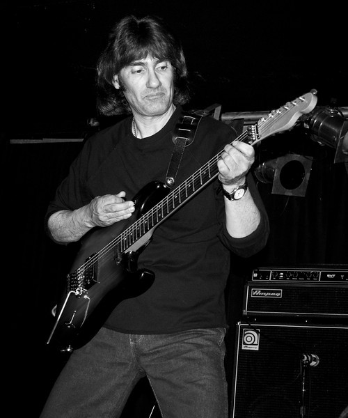 """John """"the Cat"""" Gatto at the 2008 original Good Rats reunion at BB Kings. RIP Peppi 1945-2013 We will miss you, Rat On!"""