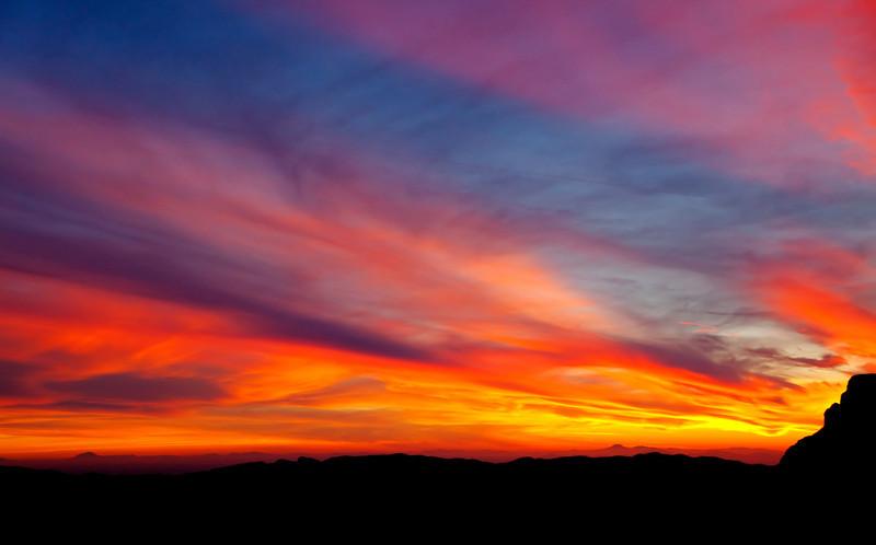 Sunset at Picketpost Mountain - Arizona