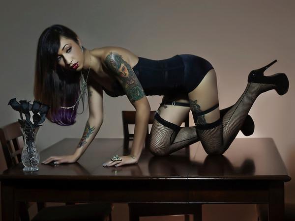 'Black Roses'<br /> Model: Alexis Jo<br /> Daniel Driensky © 2011
