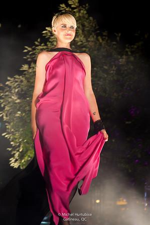 Geneviève Borne au festival de mode et design de Montréal 2012