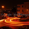Light trails on Lombard St. San Francisco