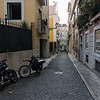 Lisbon Street with Motorcycles - Kent Atwell