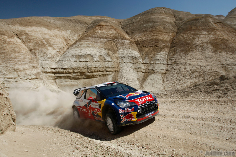 loeb s elena d (fra mc) citroen DS3 WRC jordanie (joli) 12