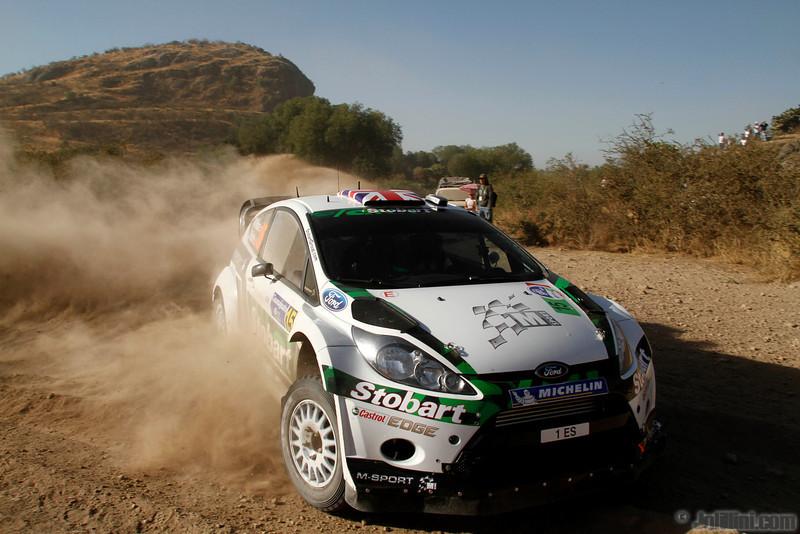 15 wilson m martin s (gb) ford fiesta RS WRC mexique 06