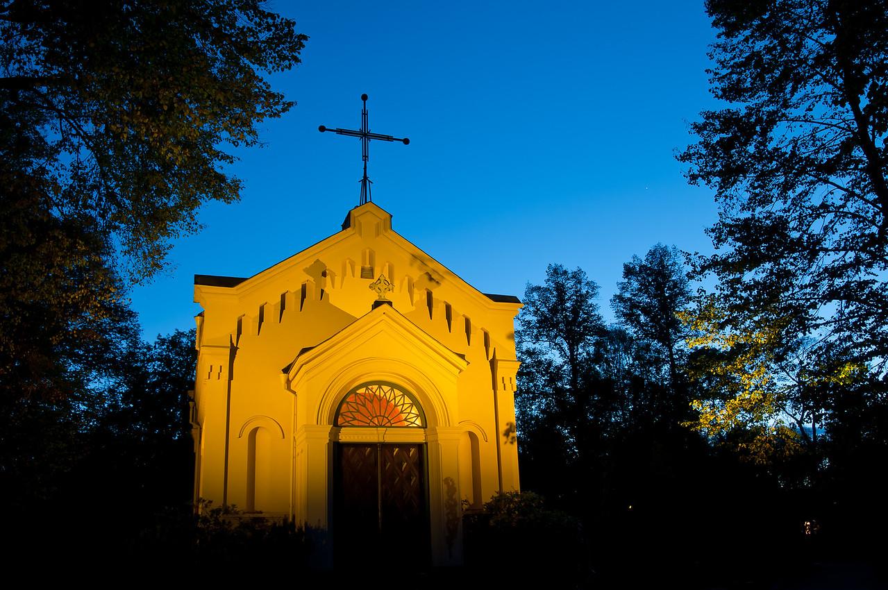 Kapell på Uppsala kyrkogård