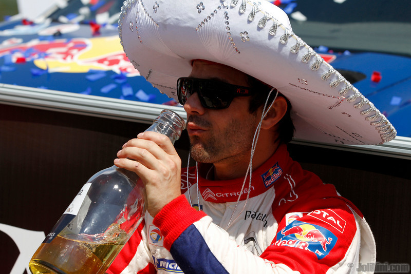01 loeb s elena d (fra mc) citroen DS3 WRC mexique 1er -7