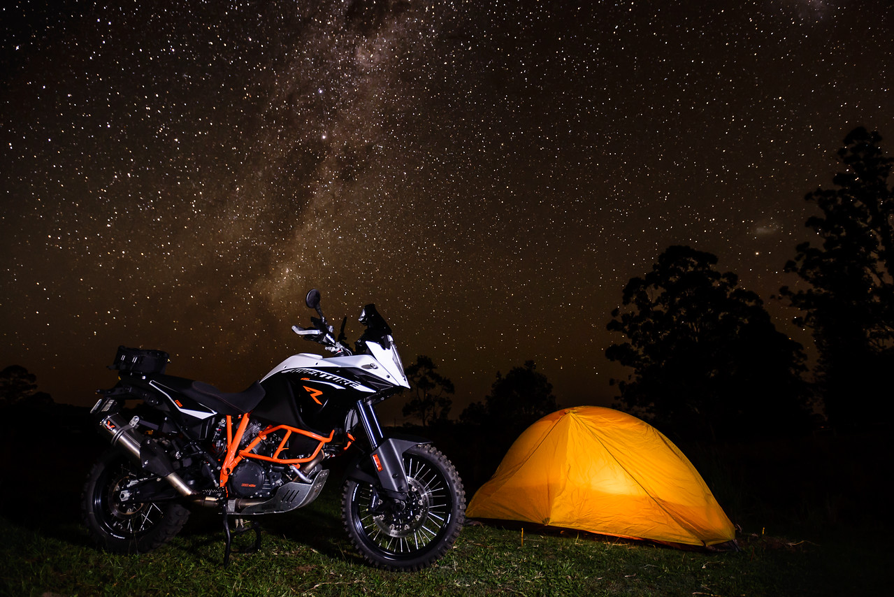 The beauty of an adventure bike lies in the places it can take you.