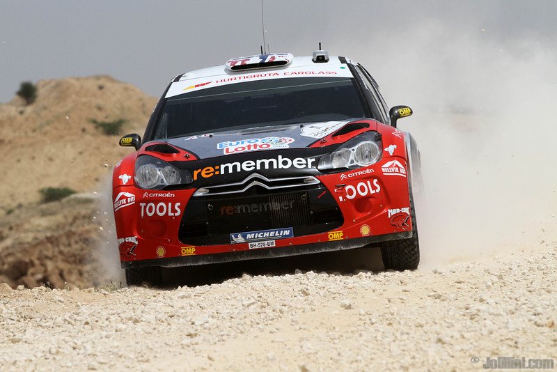 solberg p patterson c ( nor gb) citroen DS3 WRC jordanie crash (j lillini) 24