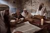 St. Jerome learning Hebrew in Jerusalem