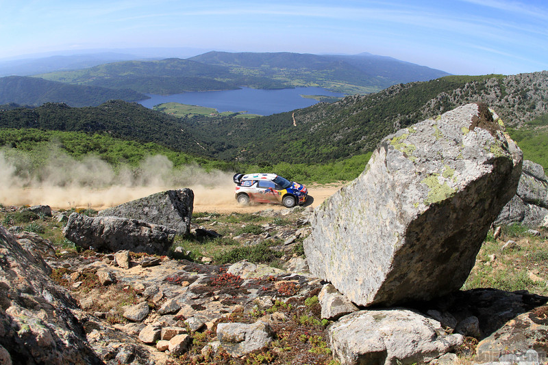 loeb s elena d (fra mc) citroen DS3 WRC sardaigne(jl)81