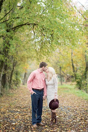 Fall Engagement Pictures