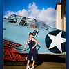"Tim Hunter's Hunny Bunny Audrie at the Pacific Air Museum, Pearl Harbor, Hawaii - December 2011.<br />  <a href=""http://www.timhunterphotography.com"">http://www.timhunterphotography.com</a>  <br />  <a href=""http://www.facebook.com/timhunterphotography"">http://www.facebook.com/timhunterphotography</a>"
