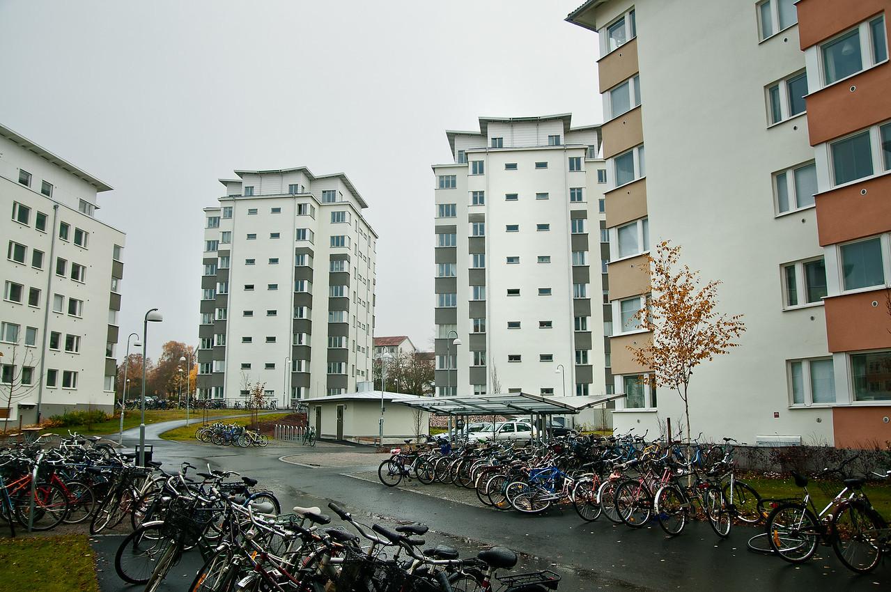 Studentbostäder i Uppsala