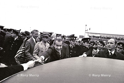 US President Richard Nixon in Ireland