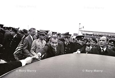 US President Richard Nixon in Ireland
