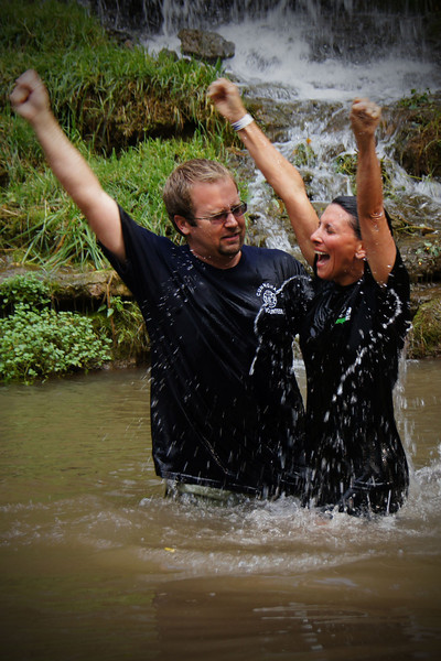 Dogwood Canyon Baptism for Woodland Hills Family Church