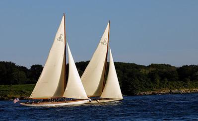 12 m. yachts
