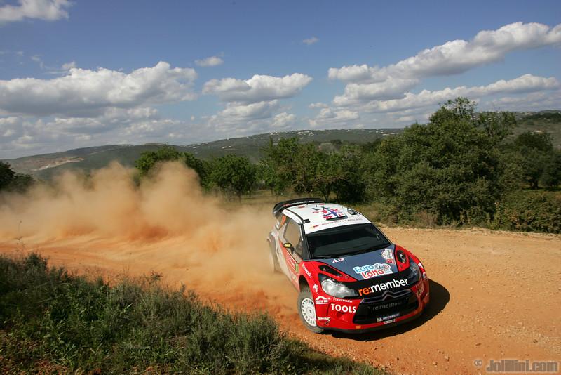 11 solberg p patterson c ( nor gb) citroen DS3 WRC portugal 15