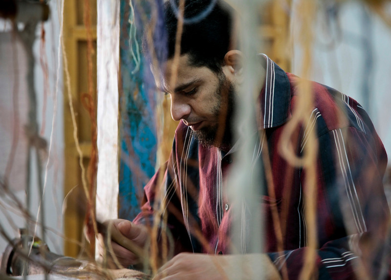 Rug making - Egypt
