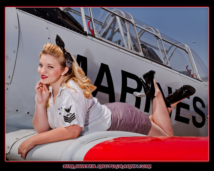 """Tim Hunter's Hunny Bunny - Kiera<br /> Planes of Fame Airshow - 2012<br />  <a href=""""http://www.timhunterphotography.com"""">http://www.timhunterphotography.com</a><br />  <a href=""""http://www.facebook.com/timhunterphotography"""">http://www.facebook.com/timhunterphotography</a>"""