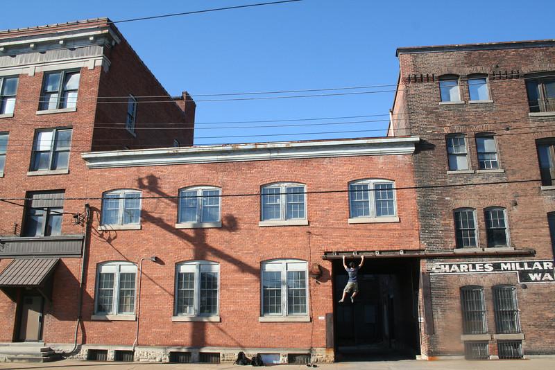 Edwin Teran enjoys urbanity<br /> <br /> Utica, NY