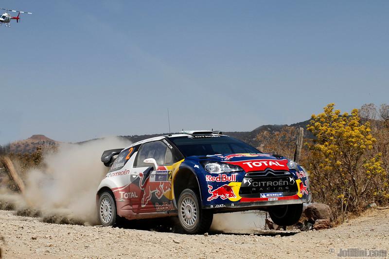 02 ogier s ingrassia j (fra) citroen DS3 WRC mexique 37