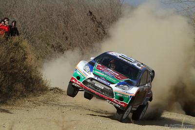hirvonen m lethinen j (fin) ford fiesta RS WRC argentine (jL)