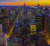 Lower Manhattan Sunset, New York City<br /> Photo © Daniel Driensky Oct 2013