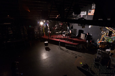 Modern Kicks setup for show @ 924 Gilman. Berkeley, California February 18, 2012