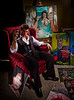 'The American Painter'<br /> Subject: Chris Babb<br /> Artwork: Chris Babb<br /> Daniel Driensky © 2010