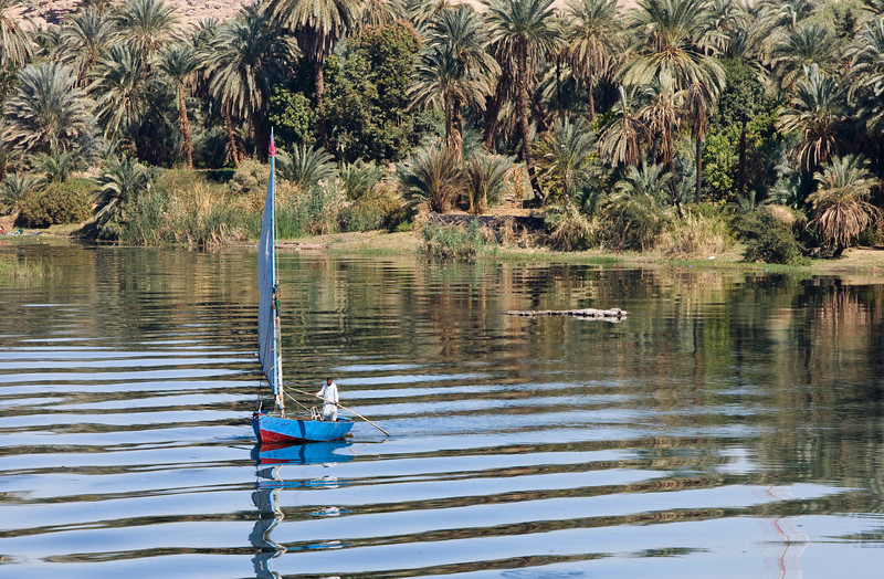 Fishing on the Nile