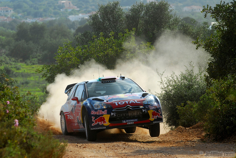 01 loeb s elena d (fra mc) citroen DS3 WRC portugal 12