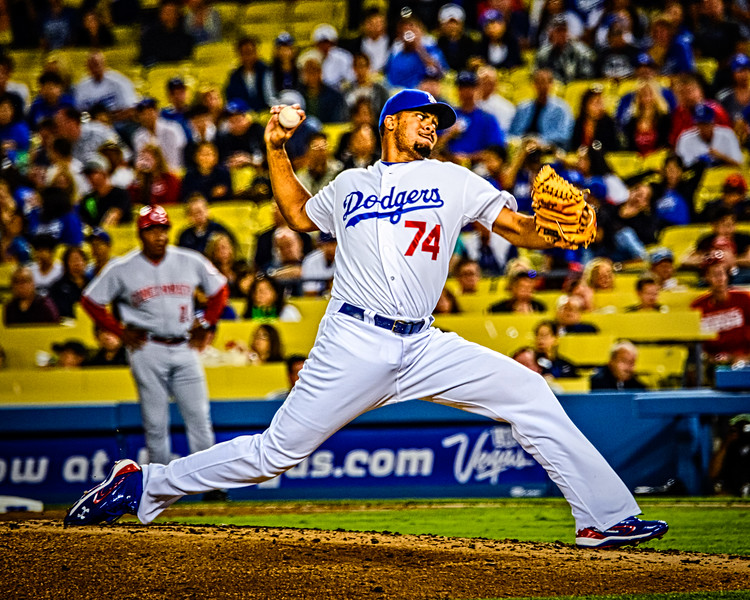 Kenley Jansen of the Los Angeles Dodgers.