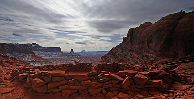 Indian Ruins. Canyonlands National Park, Utah.