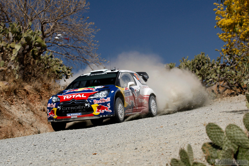 02 ogier s ingrassia j (fra) citroen DS3 WRC mexique 34