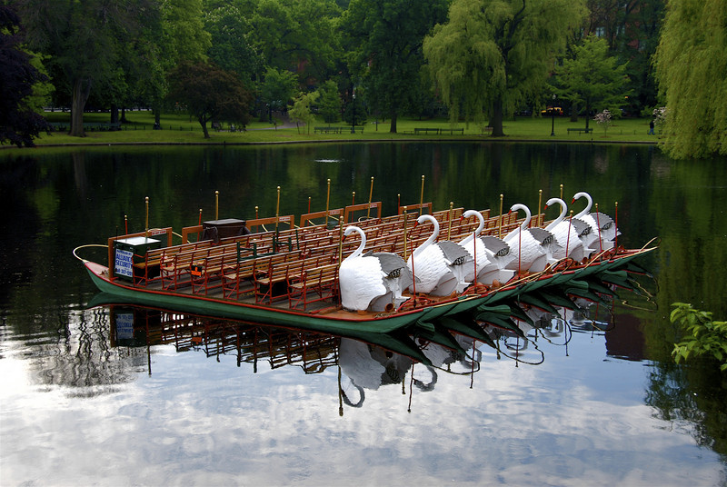 Swan Boats, Public Gardens, Boston