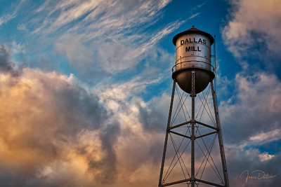 Dallas Mill water tower