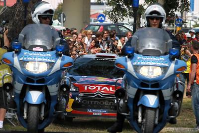 loeb s elena d (fra mc) citroen DS3 WRC sardaigne(jl)-1er