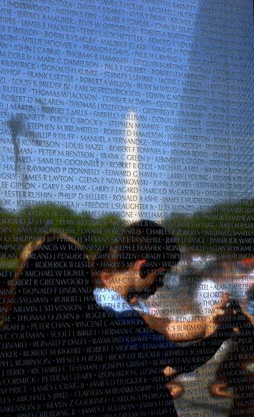 The Wall - Vietnam Veterans Memorial