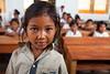 Schoolgirl in the Philippines