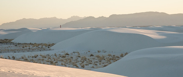 'Solitude' <br /> White Sands National Monument<br /> part of the 'WAY OUT WEST' series/zine<br /> Photo © Daniel Driensky 2013