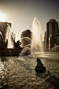 Logan Square Fountains